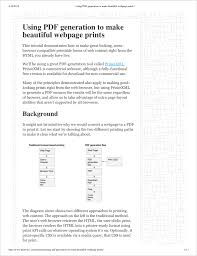 Hp Developer Portal Printing With Css And Media Queries
