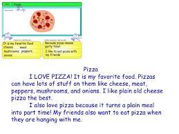 Descriptive Essay Food My Favorite Food Is Pizza Descriptive Essay Custom Book Report