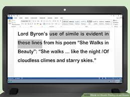 how to quote poetry in an essay pictures wikihow image titled quote poetry in an essay step 6