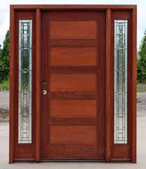 shaker front doorCraftsman Style Doors and Sidelights