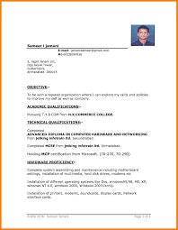 three column resume template