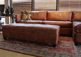 leather sofa with chaise. Contemporary Leather Amazoncom Phoenix 100 Full Aniline Leather Sectional Sofa With Chaise  Vintage Amaretto Kitchen U0026 Dining In With R