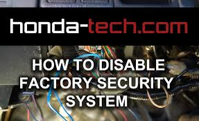 how to disable factory security system in honda accord youtube how to disconnect gm electrical connectors at Disconnecting Wire Harness 2001 Honda Accord