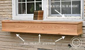 Build Window Box Serendipity Refined Blog How To Build A Diy Rustic Cedar Window