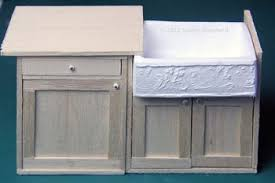 how to build dollhouse furniture. make a sink cabinet for dolls house fitted kitchen how to build dollhouse furniture
