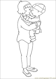 Caillou Coloring Pages 009 Coloring Page Free Caillou Coloring