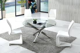 round glass dining clear round glass dining table with dining chairs glass dining table set singapore