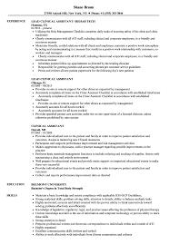 Clinical Assistant Resume Samples Velvet Jobs