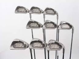 Ping Zing 2 Iron Set 2nd Swing Golf