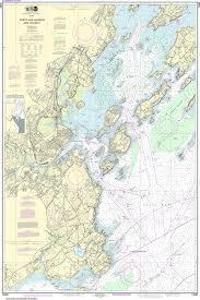 Noaa Nautical Chart 13292 Portland Harbor And Vicinity