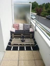 small balcony furniture. Balcony Deco With Palette Sofa Small Furniture