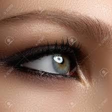 creative eye makeup fashionable smoke eyes cosmeticake up dark eye