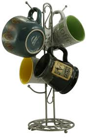 Metal Coffee <b>Cup Holder Kitchen</b> Coffee Mug Tree Countertop <b>Tea</b> ...