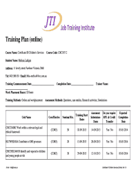 7 Printable Training Agenda Template Excel Forms Fillable