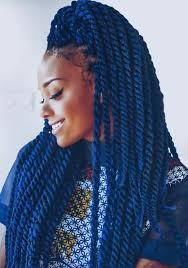 Hairstyle Tresses Idée De Coiffure Femme Afro Tendance