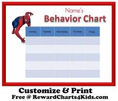 Spiderman Reward Chart Spiderman Reward Chart Template Www Bedowntowndaytona Com