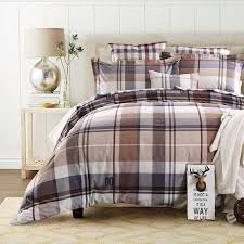 lofty design ideas plaid duvet covers king cover set bedding cotton fabric checd
