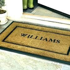 customized front door mats personalized front door mat outdoor mats exterior waynowco custom made front door customized front door mats