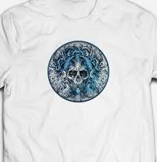 Mens Fit Sea Octopus Ocean Tentacle Skull Tattoo Art Style Fashion T Shirt Teefunny Unisex Casual Tshirt Top Limited T Shirts 24 Hours Designer White