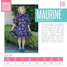Lularoe Christy T Size Chart The New Lularoe Maria Dress