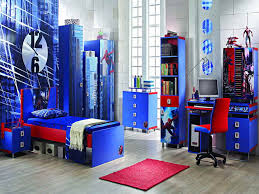 magnificent attic kids bedroom ideas with loft beds and superman wonderful design spider man themes wallpaper boy kids beds bedroom