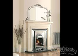 silver over mantel mirrors
