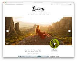 005 Blanca Free Photography Website Templates Web Template