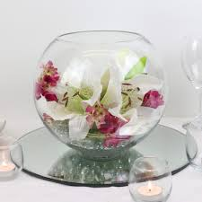 Glass Bowl Table Decorations stacked bubble bowls with flowers Google Search globes 2
