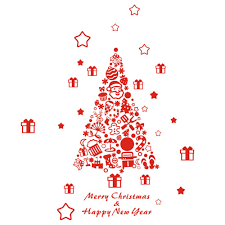 Wall Xmas Decorations Online Get Cheap American Christmas Trees Aliexpresscom