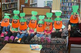 Happy St. Patrick's Day From the Children at Oakland Library Story Time |  Kat Country Hub