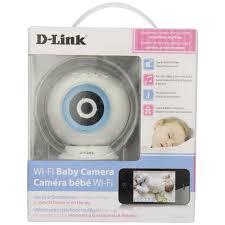 D-Link DCS-825L HD WiFi Baby Camera - Temperature Sensor Personalize ...