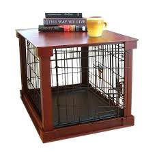 dog cage end table dog crate end table large dogs tables kennel indoor side pet cage dog cage end table