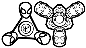Small Picture Spinner Spiderman vs Spinner Iron Man Coloring Book Coloring Pages