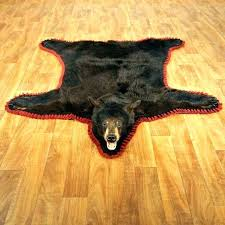 bear rug fake faux bear rug faux black bear rug rug animal skin with head showy bear rug fake faux