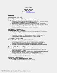 Cover Letter Claims Representative Resume Resume For Claims