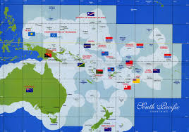 south pacific countries map  thikombia fiji • mappery