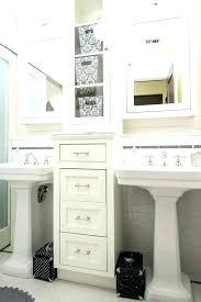 pedestal sink storage solutions pedestal sink storage solutions storage pedestal sink medium size of bathroom pedestal