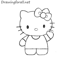 How To Draw Hello Kitty Drawingforall Net