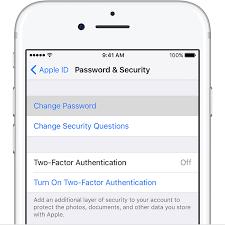 How To Change Icloud Password Leawo Tutorial Center