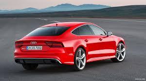 Hd Sportback Wallpaper 2015 Red Audi 2 Rs7 Rear misano -
