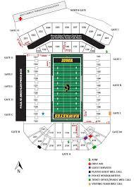 Kinnick Edge Seating Chart Iowa Hawkeye Football The Tailgaters Guide To Iowa City