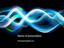 wave powerpoint templates sine waves powerpoint template authorstream