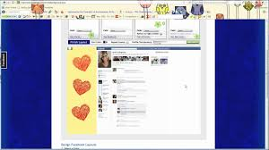 How To Add Clip Art Images To Facebook Layouts Youtube