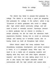 in praise of the f word essay stephon johnson english mid  2 pages ready for college annotation