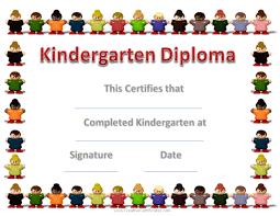 Ideas Of Preschool Graduation Certificate Template Free With