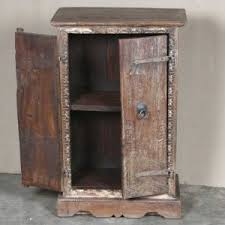 k64 60134 indian furniture small old door cabinet with framed carving salvaged antique doors