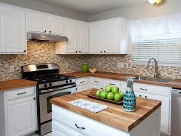 Butcher Block Countertops Reviews Painting Kitchen Countertops Pictures Options Ideas Hgtv