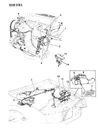 1990 chrysler lebaron gtc wiring engine front end related parts 1990 chrysler tc wiring diagram