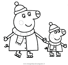 Peppa Pig Coloring Sheets Trustbanksurinamecom