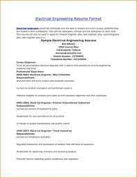 Top 10 Resume Formats Achievable Photos Electronic Format Electrical